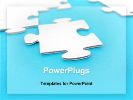 Puzzle pieces template for powerpoint