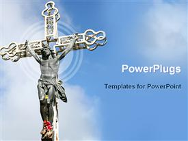 Crucifix powerpoint template