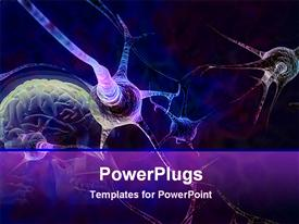 Neurons in the brain template for powerpoint