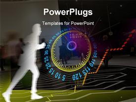 PowerPoint template displaying speed_0416 in the background.