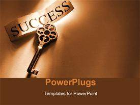 Key to success template for powerpoint