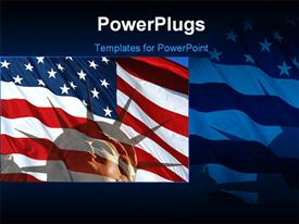 Symbol of freedom powerpoint theme