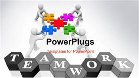 Partnership image template for powerpoint