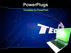 Global Technology concept template for powerpoint
