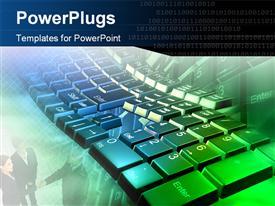 Technology_0216 powerpoint template