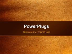 PowerPoint template displaying sandstone textured background