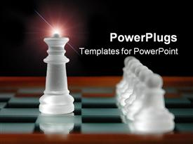 Chess pieces template for powerpoint