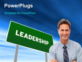 Leadership concept powerpoint template