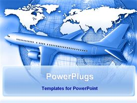 Global transportation powerpoint theme