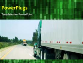 Transportation background powerpoint theme