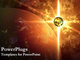 Universe powerpoint theme