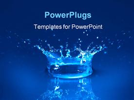 Water powerpoint theme